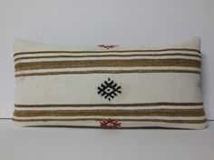 VIEW ALL 16X16 TO 32X32 INCH KILIM PILLOWS http://www.etsy.com/shop/DECOLICKILIMPILLOWS  HAND WOVEN ORIENTAL TURKISH KILIM PILLOW COVER by