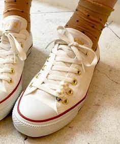 LOVE BY e.m. リボンコンバース~ALL STAR ローカット~(スニーカー)|LOVE BY e.m. (ラブバイイーエム)のファッション通販 - ZOZOTOWN