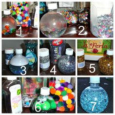 crayonfreckles: Toddler Sensory Bottles from Two Big Two Little