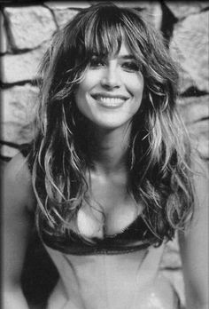 Thank u Kimmie for pinning my collection of Sophie Marceau photos on ur board in my honor. Always when u think of me, remember me like this photo: Smiling. Message from Mari Marxuach. Original caption was: My husband says I look like her. I wish. But I love my husband for seeing me that way: for seeing me beautiful even on my worst hair-day & on days I have the flu & no make-up. What is most beautiful in Sophie (& in anyone) is the soul, not the flesh (a smiling soul) -Mari Marxuach Parrilla