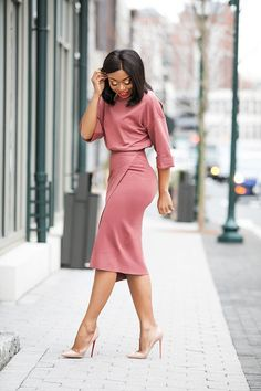 70 Casual Work Outfits für schwarze Frauen - Dresses for Women Casual Work Outfits, Business Casual Outfits, Professional Outfits, Mode Outfits, Office Outfits, Work Casual, Chic Outfits, Classy Outfits, Office Wear