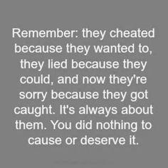 Cheater!