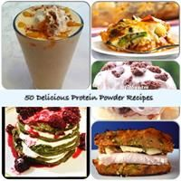 Learn how to make delicious recipes using your protein powder. Click the link for our Top 50 Protein Powder Recipes for breakfast, lunch, dinner, and desser!t #cookies #foodie #tasty