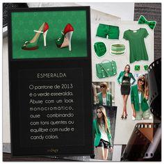 Verde esmeralda, o pantone de 2013!
