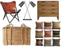 Loving this style at the moment... How am I going to put a whole house together when I love so much?!