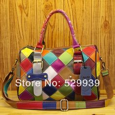 Cow Leather, Cowhide Leather, Leather Bag, Prada Handbags, Leather Handbags, Handmade Leather Wallet, Patchwork Bags, Large Shoulder Bags, Leather Fashion