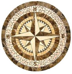 compass medallion