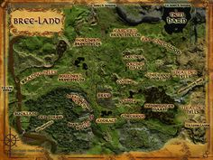 South Gate, Yellow Tree, Work Site, Aragorn, Arwen, Topographic Map, Middle Earth, The Hobbit, Landing