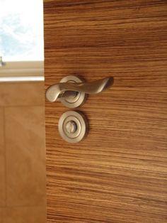 Image result for zebrano doors. Handle & STEEL ART type 842 veneer Zebrano large http://www.doors4uk.co.uk ... pezcame.com