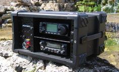 Communication Rack Pro Speaker Rack with Dual USB Charging Ports Radios, Mobile Ham Radio, Ham Radio Operator, Emergency Radio, Qrp, Ham Radio Antenna, Survival, Emergency Preparation, Boombox