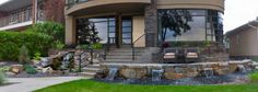 Salisbury Landscaping offers professional landscape design and build services within Sherwood Park, Edmonton and the surrounding area. Outdoor Living, Outdoor Decor, Landscaping Design, Salisbury, Landscapes, Patio, Building, Paisajes, Outdoor Life