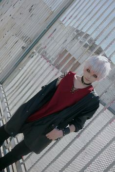 Such a cool Saeran cosplay *^* =^_^=!!!