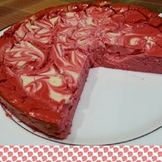 Red Velvet Protein Cheesecake - What gets better than red velvet