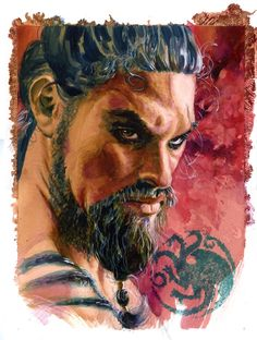 Game of Thrones: Drogo by Ken Meyer Jr