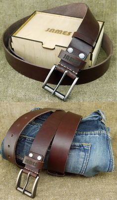 2af34025f7a1 Anniversary Gifts for Boyfriend Personalized Leather Belt Leather  Anniversary Boyfriend Gift 3rd Wedding Anniversary Gift for Him BT-3