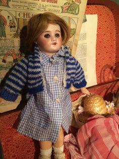 RARE Bleuette Doll Marked France SFBJ 60 Paris 8 0 Bisque Head Circa 1926 | eBay