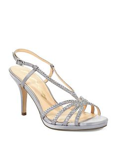Brands | Party & Evening | Bobbie Rhinestone Sandal Heels | Lord and Taylor