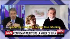 O canal argentino de televisão C5N, em programa jornalístico apresentado por Victor Hugo Morales, veiculou notícia sobre a morte da ex-primeira dama brasileira, Marisa Letícia Lula da Silva, fazendo d