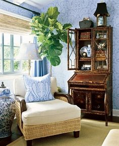 Traditional Home With Barclay Butera: Blue & White Inspiration
