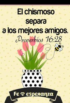 El perverso provoca contiendas y el chismoso divide a los buenos amigos. Proverbios 16:28