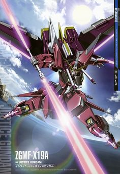 ZGMF-X09A Justice Gundam is a mobile suit featured in Mobile Suit Gundam SEED, piloted by Athrun Zala.- CLS