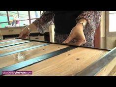 Fabriquer une table basse avec une palette - YouTube