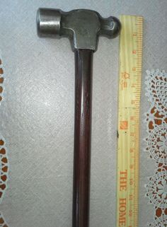 Who would have thought, a ball peen hammer head for a handle!!!! This I will definitely do!!