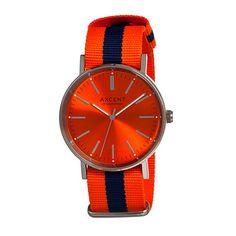 Vintage Men's Orange Watch.