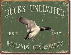 Ducks Unlimited Since 1937