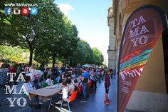 Que bonitos recuerdos del fín de semana y el arte-topaketak organizado por la Fundación Etiopia-Utopia Fundazioa -tikal con la colaboración de Papelería #Tamayo entre otros... Que bién lo pasamos en la Plaza de Gipuzkoa de #donostia #sansebastian ! Y además por un buen fín. Habrá que repetir...