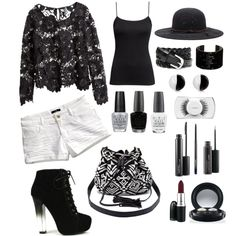 A fashion look from March 2015 featuring H&M blouses, H&M tops and H&M shorts. Browse and shop related looks.