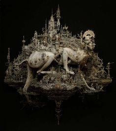 Terroríficas Esculturas de Chris Cooksey