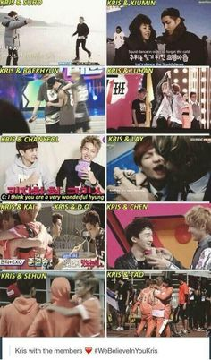 Twitter / KhunKyuhYUN: KRIS WITH EXO.. ❤ But I can't ...