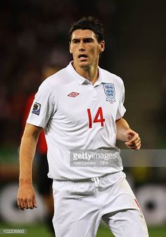 Gareth Barry of England looks on during the 2010 FIFA World Cup South Africa Group C match between England and Algeria at Green Point Stadium on June. Fifa World Cup, Chester, South Africa, That Look, June, England, Rock, Green, Image