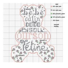 Immagine - GRID CROSS STITCH .... - ME - Skyrock.com
