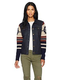 "Product review for Pendleton Women's Athena Lambswool Sweater Jacket.  The classic denim jacket meets a patterned cardigan sweater, creating a versatile layering piece you can wear indoors or out. Snap closures; ribbed cuffs.   	 		 			 				 					Famous Words of Inspiration...""Imagine every day to be the last of a life surrounded with hopes, cares, anger and..."