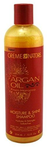 Creme Of Nature Argan Oil Shampoo 12oz (2 Pack) *** Click on the image for additional details.