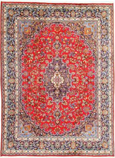 Red 9' 6 x 12' 10 Mashad Rug   Persian Rugs   eSaleRugs