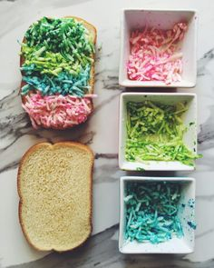 How to Make a Rainbow Grilled Cheese - by Grilled Cheese Social!