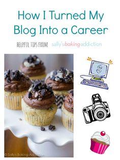 How I Turned my Food Blog into a Career.