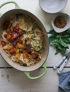 This One-Pot Pasta Is the Easy Summer Dinner You Need — Delicious Links   The…