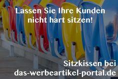 Lassen Sie Ihre Kunden nicht hart sitzen! - Werbesitzkissen von dos-werbeartikel-portal.de