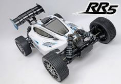 MCD RR5 Compatition RTR 1/5 4WD Buggy Benzinli RC Araba