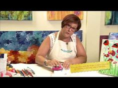 ▶ Paper Crafter Crayons-Melting Techniques: Donna Downey Series - YouTube Also known as Faux Encaustic technique