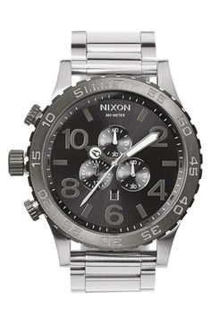 Nixon+'The+51-30'+Chronograph+Bracelet+Watch,+51mm+available+at+#Nordstrom