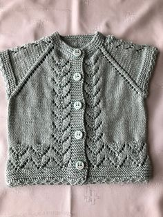 Lace Knitting Stitches, Lace Knitting Patterns, Baby Knitting, Crochet Baby Sweaters, Knit Crochet, Embroidery Suits, Clothes, Crochet Coat, Crochet Blouse