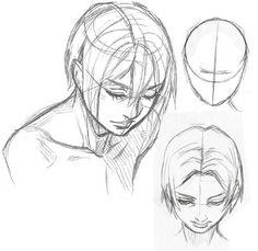 Como Dibujar Manga y Anime (Proporciones de la Cabeza y el Rostro) | DibujaManga ! Como dibujar Manga y Anime