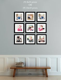 Here is our perfect canvas and print framing sizing guide to decorate your house with!