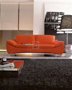 #orange #sofa #interior #design #диван Nicoline Glamour, Sprint.div.3P