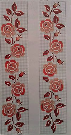 1 million+ Stunning Free Images to Use Anywhere Cross Stitch Bookmarks, Cross Stitch Borders, Cross Stitch Rose, Cross Stitch Flowers, Cross Stitch Charts, Cross Stitch Designs, Cross Stitching, Cross Stitch Embroidery, Embroidery Patterns